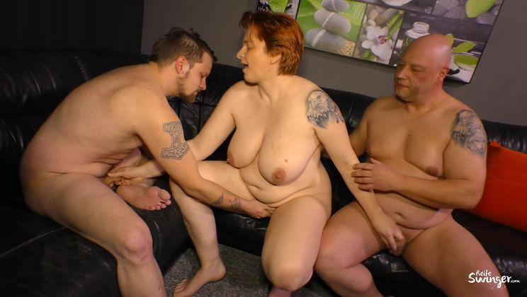 Mature Bbw Anal Threesome
