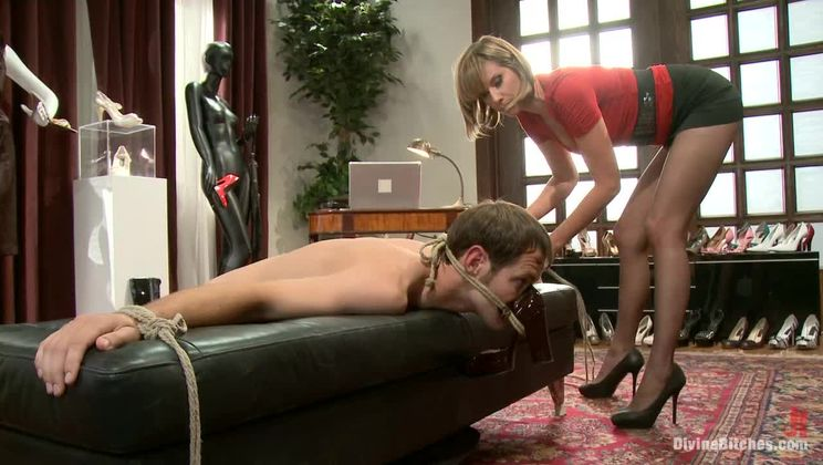 Foot freak gets heavy punishment!