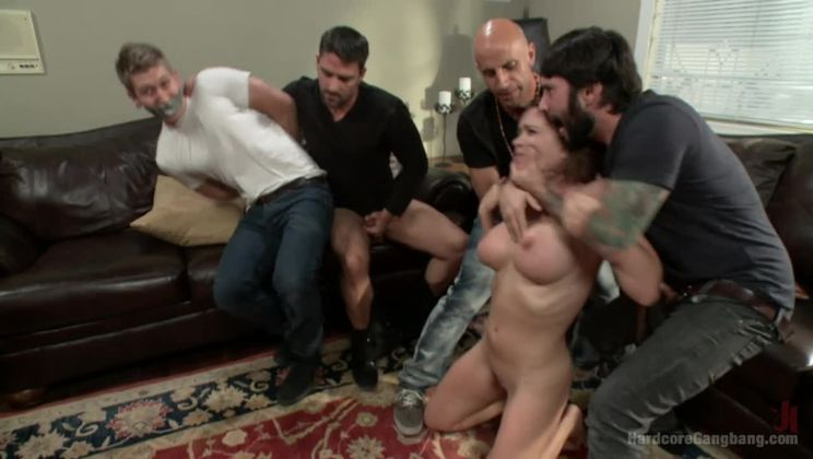 A Woman Scorned- Krissy's Fantasy Gang Bang Revenge!!