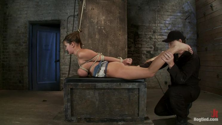 How to manhandle a slut 101:Big tits, sexy face, no gag reflex. This is how you fuck up a bitch.