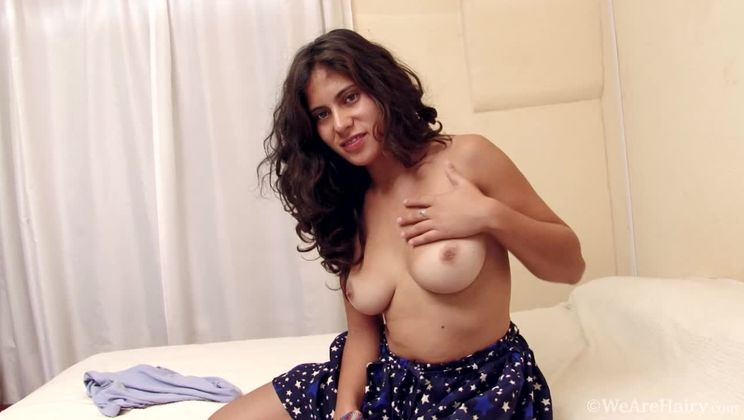 Sally comes home and masturbates in her bedroom