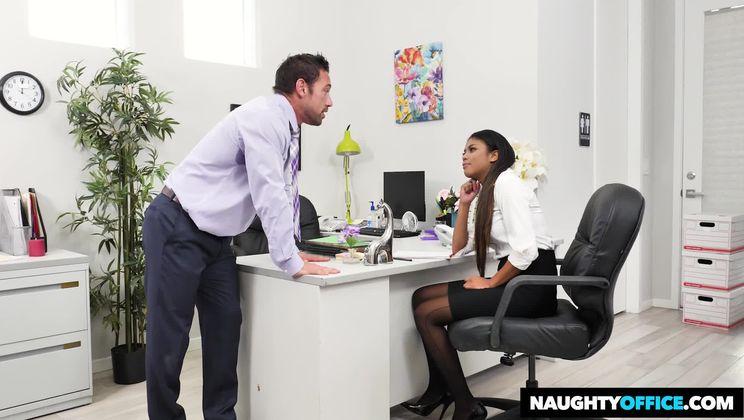 Nia Nacci,Johnny Castle Naughty Office