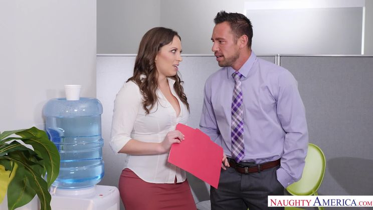 Lily Love,Johnny Castle Naughty Office