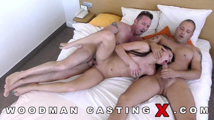 Teen woodman casting Porno :