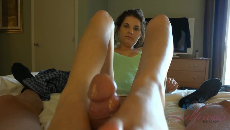 She leaves you with a sore dick because she was too tight