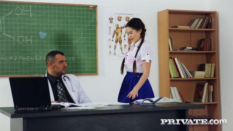 Trainee Nurse Cassie Fire Rides Her Teacher