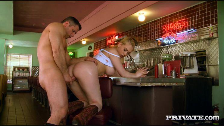 All American Blonde Kagney Linn Karter Gets Sticky Tits