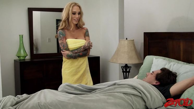 Tattooed MILF Sarah Jessie Fucked Hard