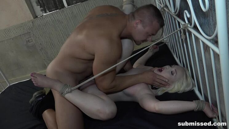 Lovita tied up and hardcore fucked
