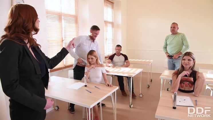 Orgy in the Classroom