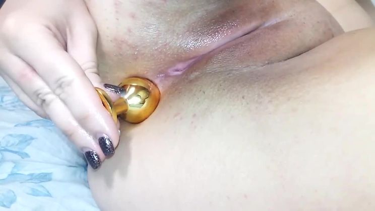 First time anal with butt plug